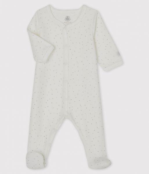 Pyjama Met Voetjes / Sterrenprint