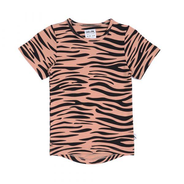 Tiger T-shirt Drop Back