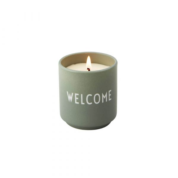 Scented Candle / Welcome