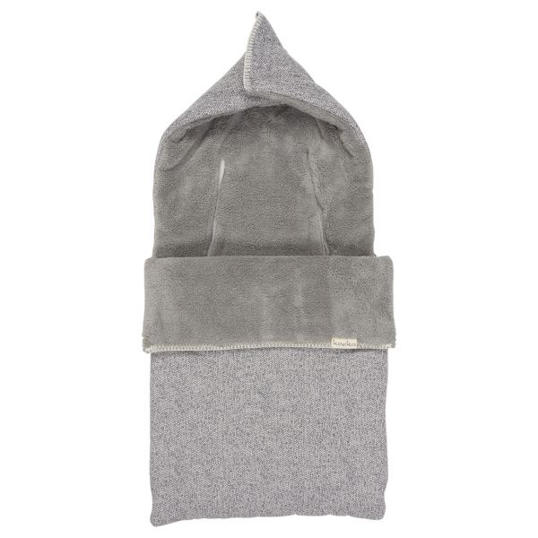 Baby Voetenzak 3/5 Puntsgordel Teddy Vigo / Sparkle Grey/Steel Grey