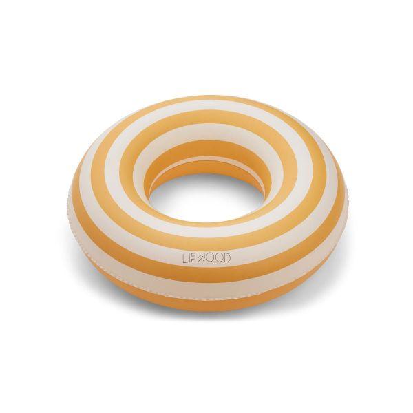 Baloo Swim Ring / Stripe Yellow Mellow - Creme de la Creme