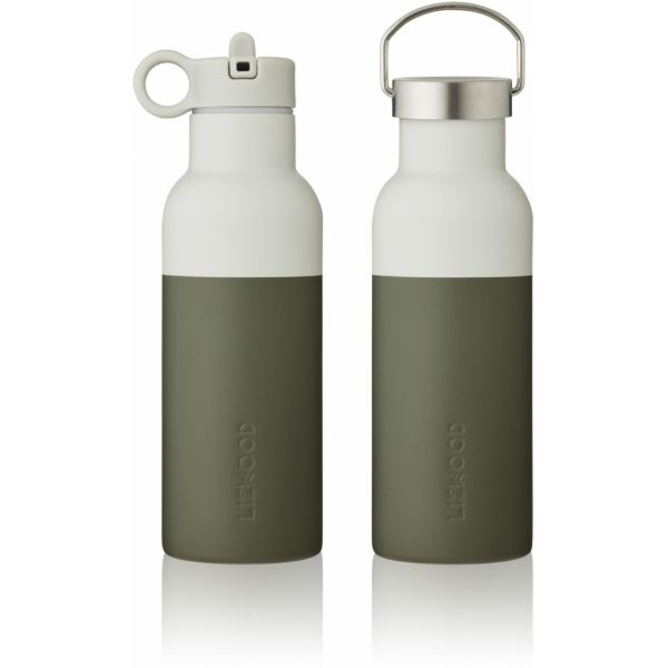 Neo Water Bottle / Hunter Green - Dove Blue Mix