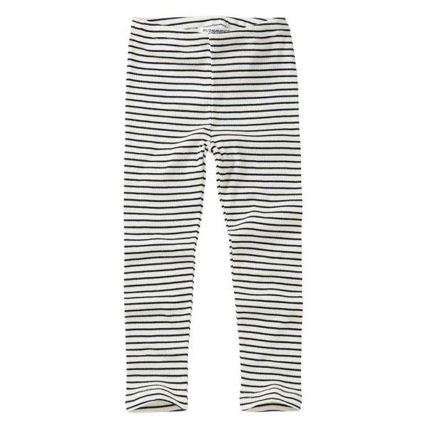 Rib Legging Stripes / White - Black