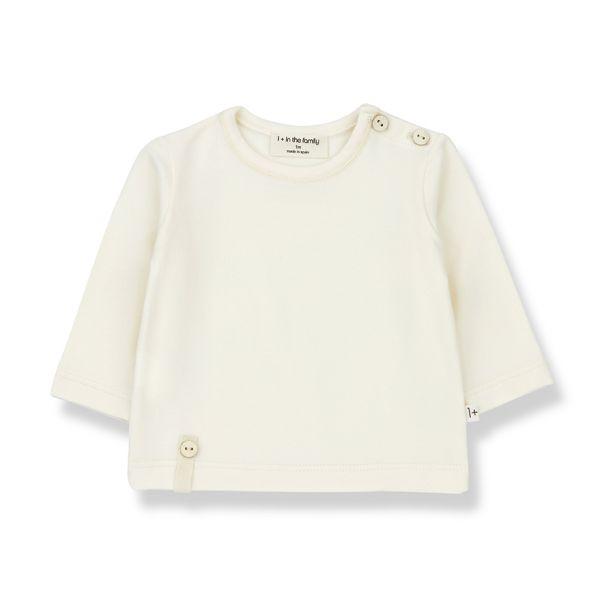 Noelle Long Sleeve T-shirt / Ecru