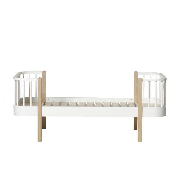Wood junior bed / Oak