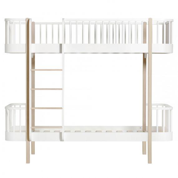 Wood Bunk Bed / Oak