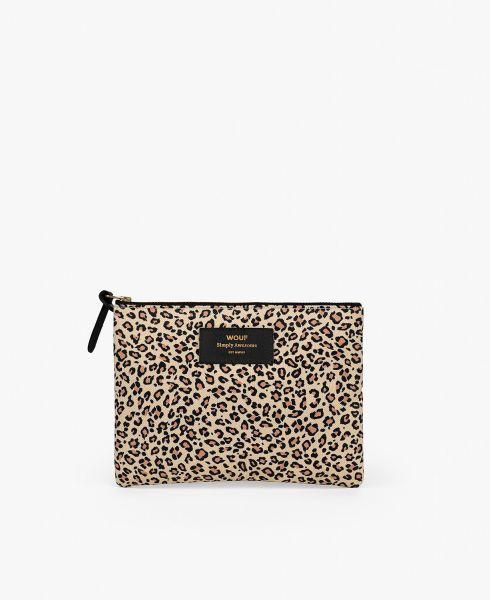 Large Pouch Bag / Pink Savannah