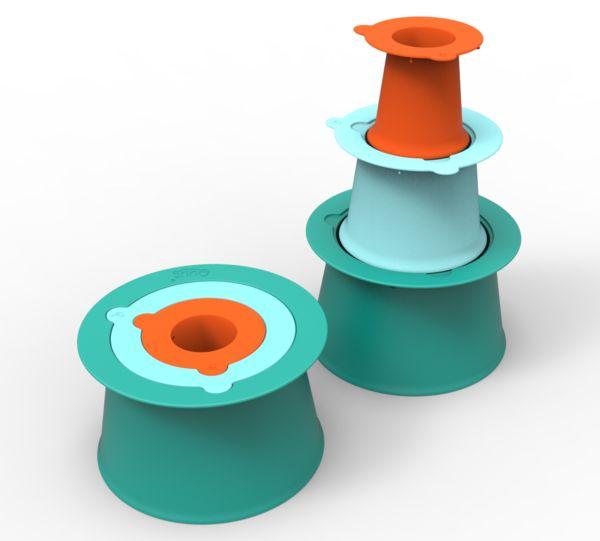 Alto / Lagoon green / Vintage blue / Mighty orange