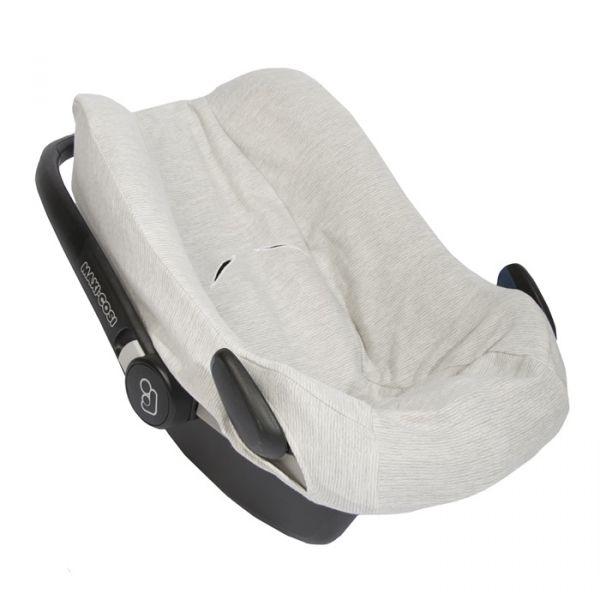 Car Seat Cover / Powder Stripes