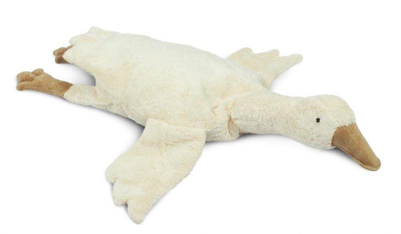 Cuddly Animal Large / Goose White (warmtekussen)