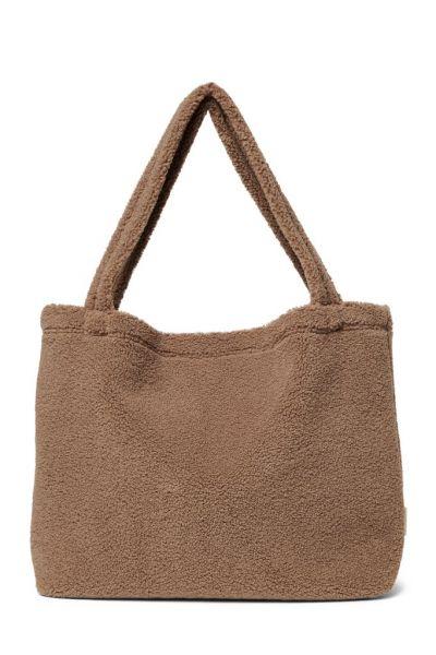 Brown Chunky Teddy Mom-bag