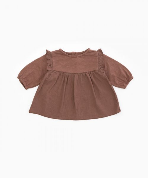 Tunic with frill / Woodwork