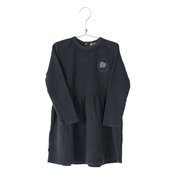 Dress Polar Sheep Patch Vintage Black