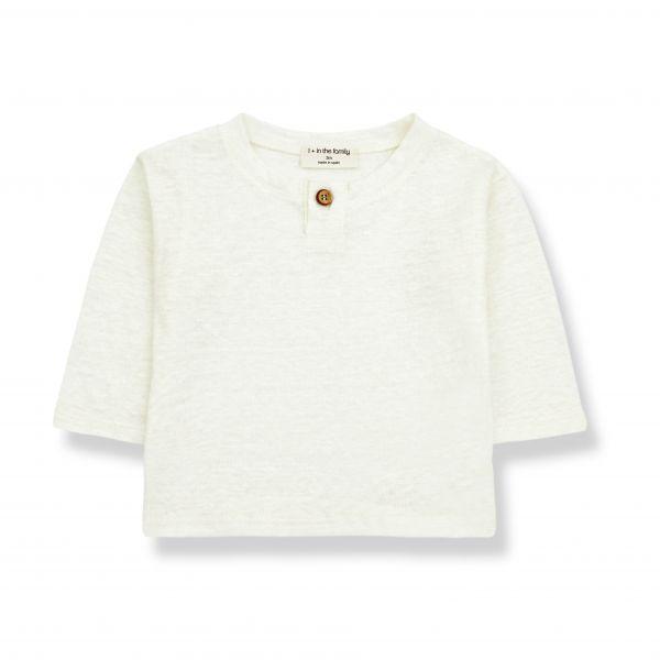 Angel Long Sleeve T-shirt / ecru