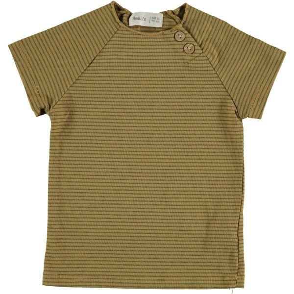 Clover Striped T-shirt / Mustard