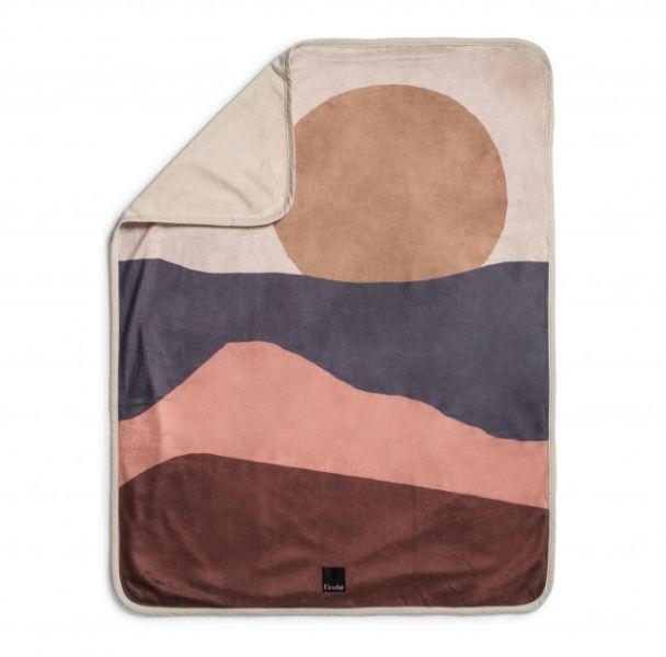 Pearl Velvet Blankets / Winter Sunset