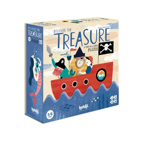Puzzle / Discover The Treasure