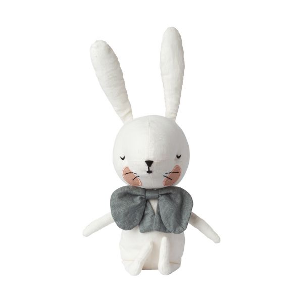 Rabbit In Gift Box / White