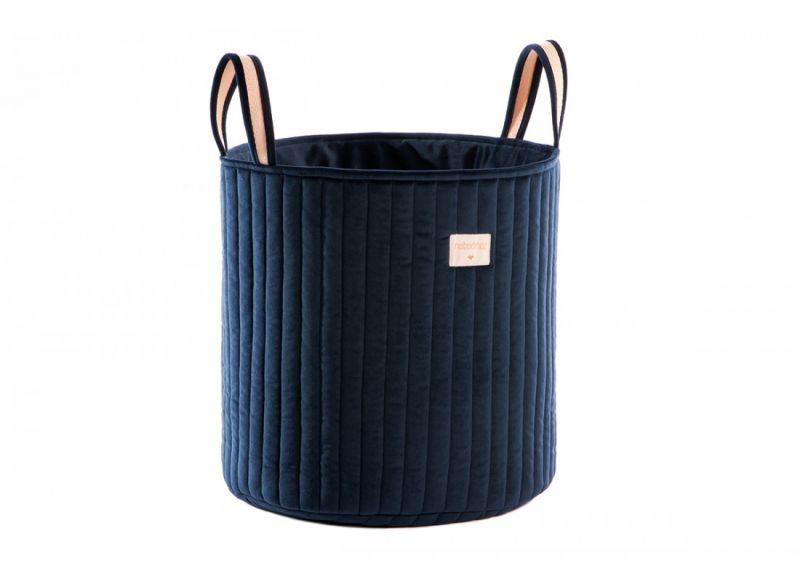 Savanna Velvet Toy Bag / Night Blue