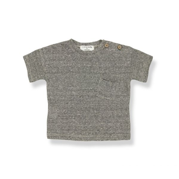 Victor Short Sleeve T-shirt / anthracite
