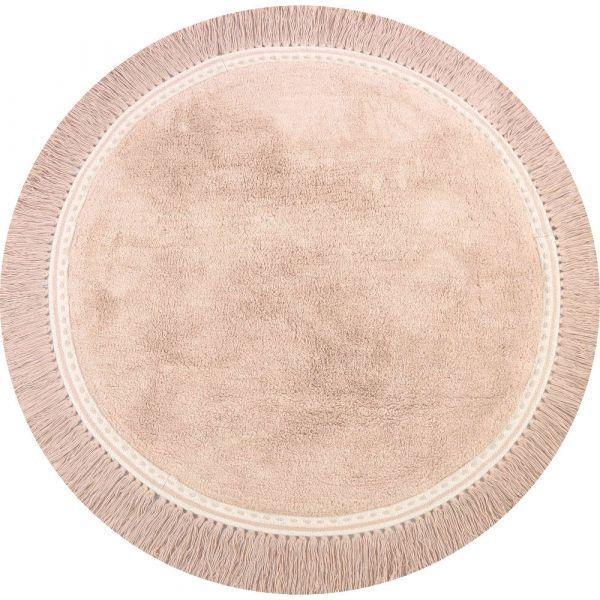 Vloerkleed  /  Rug Anna Soft Pink   (110 x 110)