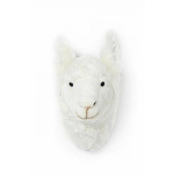 Pluchen dierenkop Lily / Lama