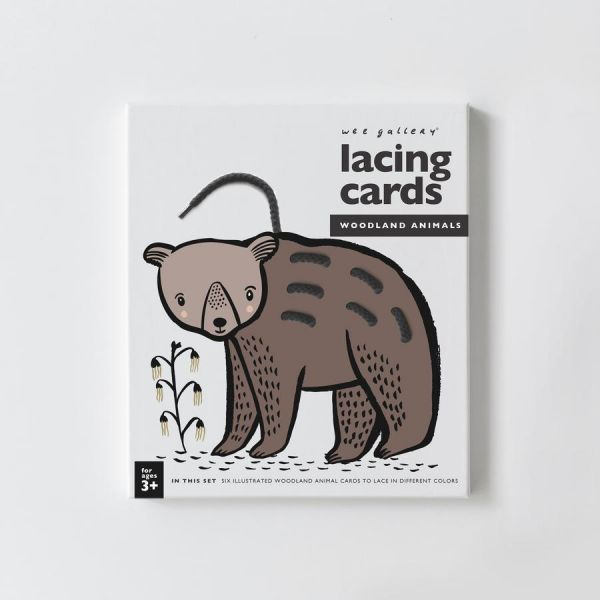 Lacing Cards / Woodland Animals