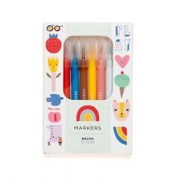 10 Felt Tip Brush Pens
