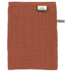 Muslin Washcloths / Bliss Rust