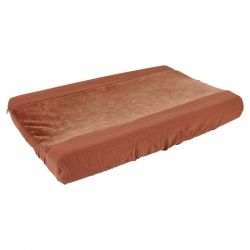 Changing Pad Cover / Bliss Rust