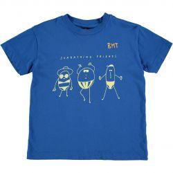 T-shirt Sunbathing / Fresh Blue