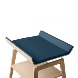 Linea Cover for Changing Mat / Dark Blue