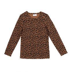 Chocolate leopard longsleeve / Brown