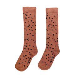 Brown Sahara leopard / Knee Socks / Brown