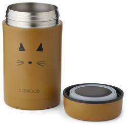 Bernard Food Jar / Cat Mustard