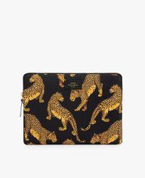 "Laptop Sleeve 13"" / Black Leopard"