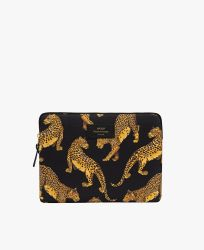 iPad Sleeve / Black Leopard