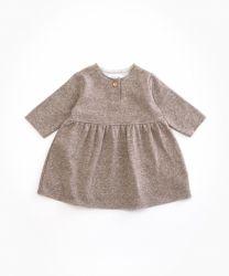 Fleece Dress / Walnut