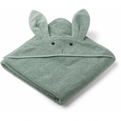 Augusta Hooded Towel / Rabbit Peppermint