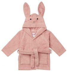 Lily Bathrobe Rabbit / Rose