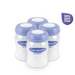 Bewaarflesjes Voor Moedermelk / 4 x 160 ml