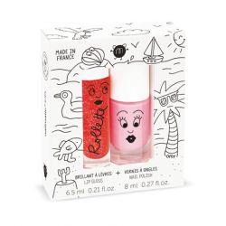 Nagellak op waterbasis & Lip gloss / Holidays