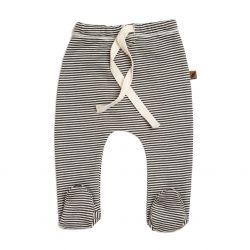 Footed Pants / Stripe