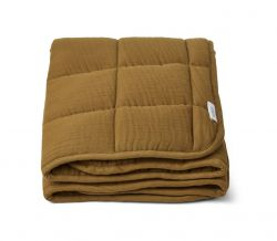 Mette quilted blanket / Olive Green
