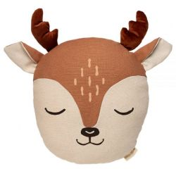 Deer Cushion / Sienna Brown