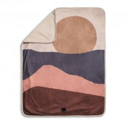 Pearl Velvet Blankets / Winter Sunset