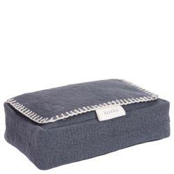 Baby Wipes Cover Runa / Dark Grey