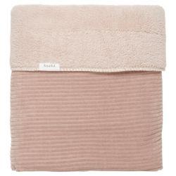 Ledikantdeken Teddy Vik / Grey Pink