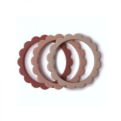 Flower Bracelet / Blush Rose Sand