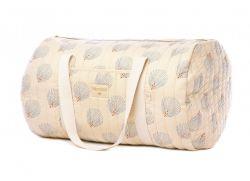 New York Weekend Bag / Blue Gatsby - Cream